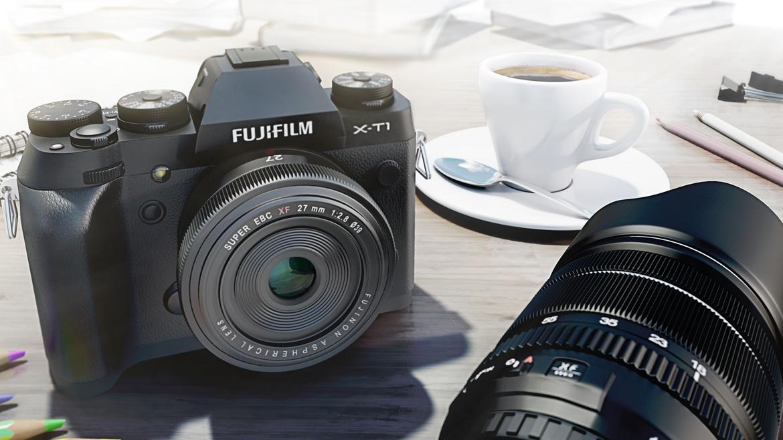 Fujifilm XT1 scène café + fujinon 27 mm